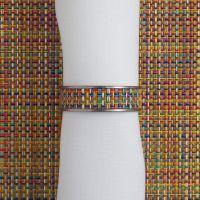 Кольцо для салфеток Confetti CHILEWICH Stainless steel 0801-MNBK-CONF