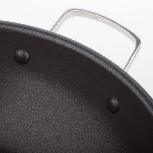 ВОК 28 см ARCOS Forza, 3-х слойная нержавеющая сталь с антипригарным покрытием, 713100