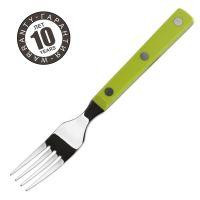 Вилка для стейка 9 см, рукоять зеленая, Mesa, серия Mesa, 374721, ARCOS
