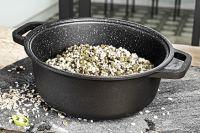 Литая кастрюля Risoli HardStone Granit 28 см, 0096GR/28HS0