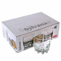 Набор стаканов для виски СИЛЬВАНА 305мл 6шт низкие