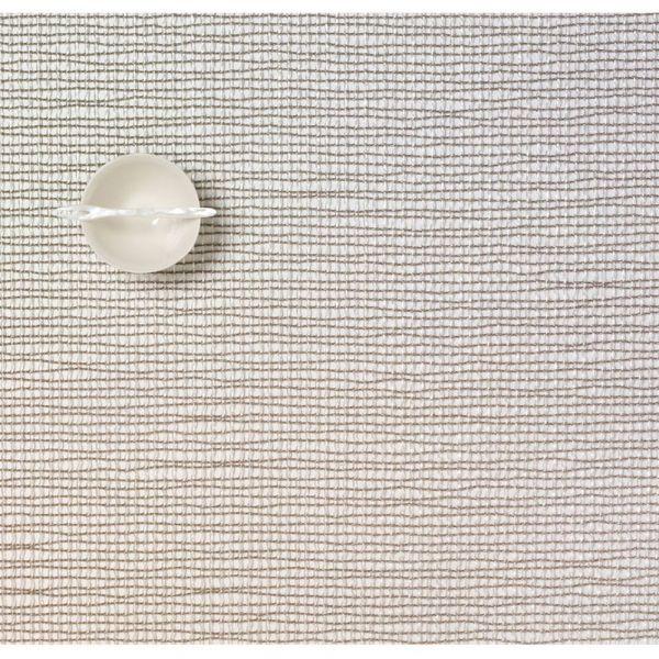 Салфетка Chilewich LATTICE подстановочная жаккардовое плетение материал винил 36x48 см Silver 0117-LATT-SILV