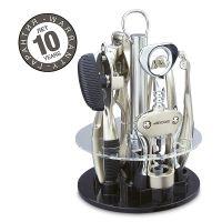 Набор кухонных принадлежностей, 5 предметов на подставке, серия Kitchen gadgets, ARCOS