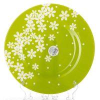 Тарелка из упрочненного стекла ГРИН ГАРДЕН, диаметр 260 мм