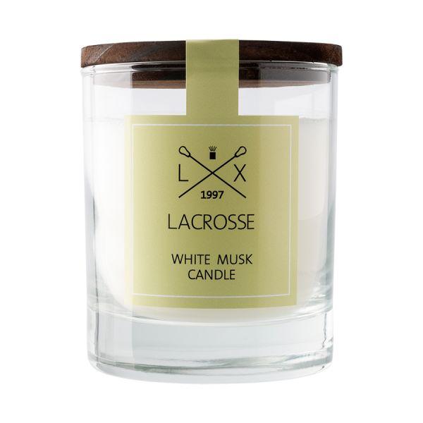 Свеча ароматическая в стекле «Белый мускус» VV040MBLC