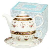 Набор 3 предмета Англия Churchill: кружка 220 мл, чайник 400 мл, блюдце CLSQ00181