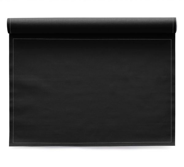 Сервировочные маты MY DRAP Black 48x32 см 12 шт в рулоне IA48/201-7