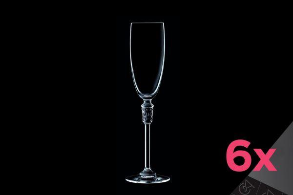 Набор бокалов для шампанского 6 шт 190 мл L8147