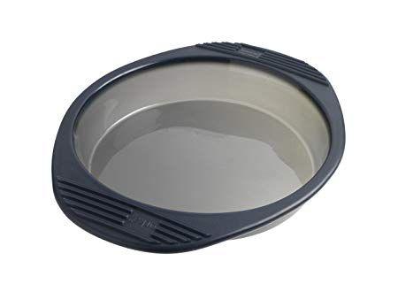 Форма 26 см для кекса круглая Mastrad из силикона, цвет серый, в подарочной упаковке F40114