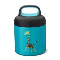 Термос для еды Carl Oscar LunchJar™ Giraffe 300 мл бирюзовый 109103