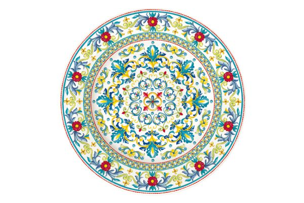 Тарелка обеденная Средиземноморье без индивидуальной упаковки