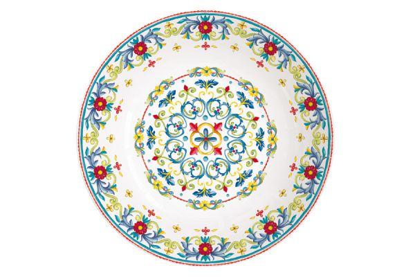 Тарелка суповая Средиземноморье без индивидуальной упаковки