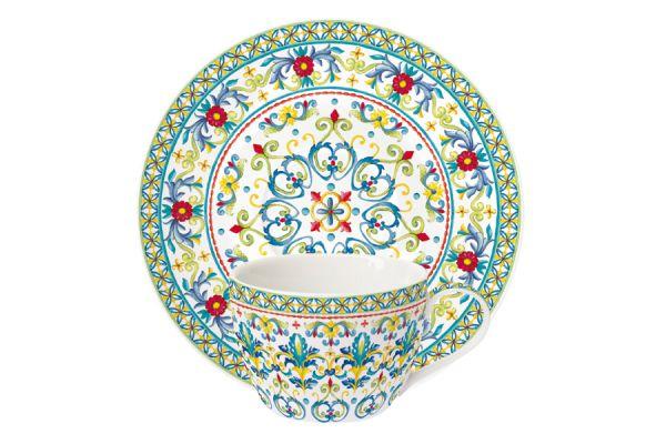 Чашка с блюдцем Средиземноморье без индивидуальной упаковки