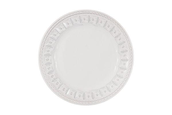 Тарелка закусочная Augusta (белый)  без индивидуальной упаковки