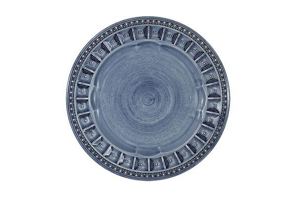Тарелка закусочная Augusta (синий)  без индивидуальной упаковки