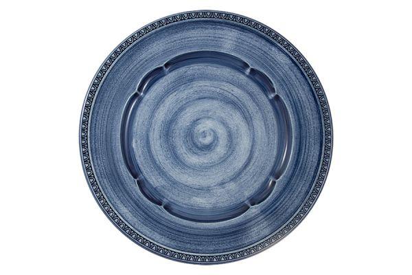 Тарелка обеденная Augusta (синий)  без индивидуальной упаковки