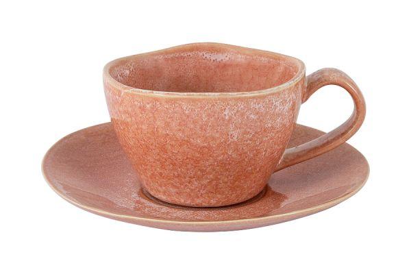 Чашка с блюдцем Canvas Red в индивидуальной упаковке