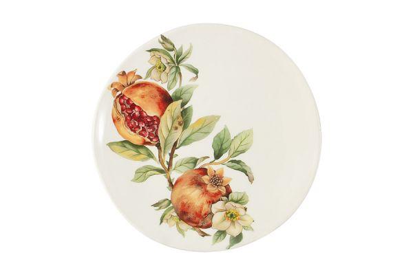 Тарелка салатная Гранат без индивидуальной упаковки