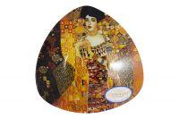 Тарелка треугольная Адель (Г.Климт) Carmani без индивидуальной упаковки CAR198-1133