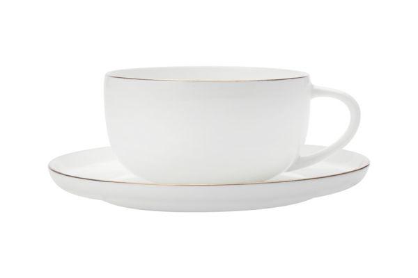 Чашка с блюдцем Кашемир Голд кофейная без индивидуальной упаковки