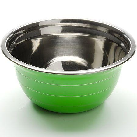 Миска Mayer&Boch 20 см из нержавеющей стали зеленого цвета 30215-1