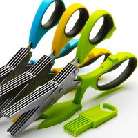 Нож для зелени Mayer&Boch 21 см с щёткой 23579