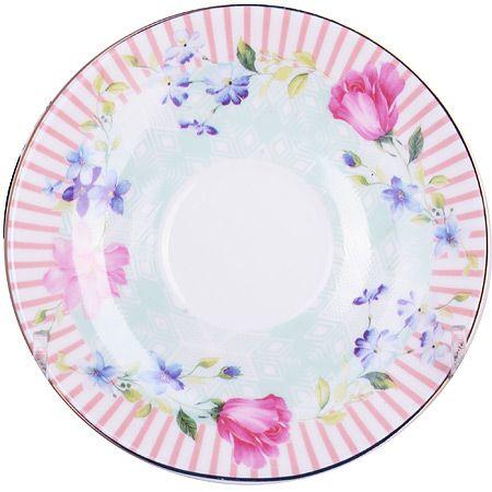 Кофейный сервиз Loraine 90 мл «Цветы» фарфоровый 25791