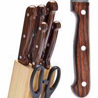 Набор ножей Mayer&Boch 7 предметов на подставке с ножницами 27425