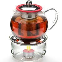 Чайник из стекла 800 мл с подогревом и ситом Mayer&Boch, 25675