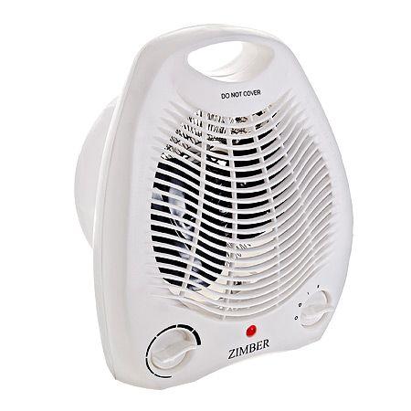 Тепловентилятор 2000Вт 2 режима тепла ZIMBER, 11200