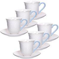 Чайный сервиз Loraine 12 предметов из фарфора 220 мл 29014