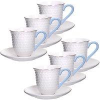 Чайный сервиз Loraine 12 предметов 220 мл фарфор 29016