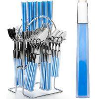 Набор столовых приборов синего цвета Mayer&Boch, 20686N3