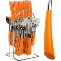 Набор столовых приборов оранжевого цвета Mayer&Boch, 20687N2