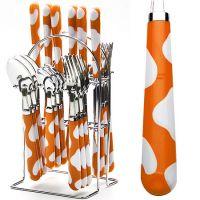 Набор столовых приборов оранжевого цвета Mayer&Boch, 22491N4