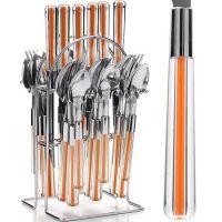 Набор столовых приборов оранжевого цвета Mayer&Boch, 22489N4