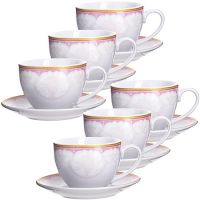 Чайный набор 12 предметов 220 мл фарфор подарочная упаковка LORAINE, MB-28584