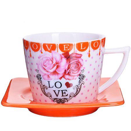 Кофейный набор Loraine из стекла 24718