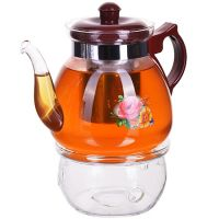 Чайник Mayer&Boch 1,25 л стеклянный с подогревом и ситом 29345