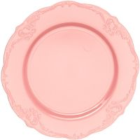 """Тарелка """"Винтаж"""" 19 см розовая, 10 шт Mayer&Boch, 14188"""
