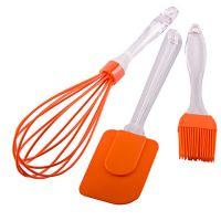 Набор кухонный Mayer&Boch 3 предмета из силикона цвет оранжевый 29373-2