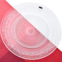 Набор 6 тарелок 25 см в подарочной упаковке Стекло, 588-103