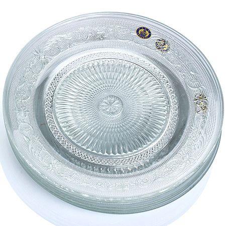 Набор тарелок Mayer&Boch Стекло 6 шт 25 см в подарочной упаковке 588-103