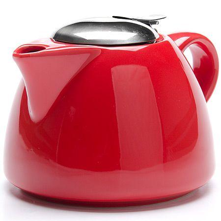 Заварочный чайник красного цвета 700 мл Lorain, 26598N3