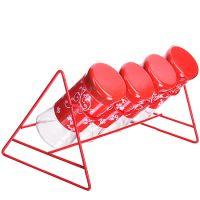 Набор для специй Mayer&Boch 5 предметов 100 мл цвет красный 28721