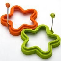 Форма для яйца в форме звезды с ручкой из силикона  Mayer&Boch, 24191