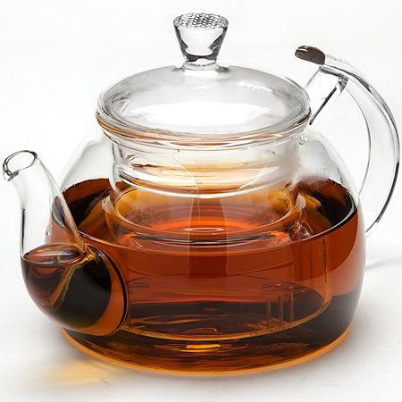 Заварочный чайник Mayer&Boch из стекла 800 мл 550 г с крышкой 24938