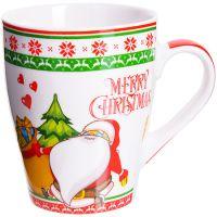 Кружка Loraine «MERRY CHRISTMAS» 340 мл в подарочной упаковке 28466