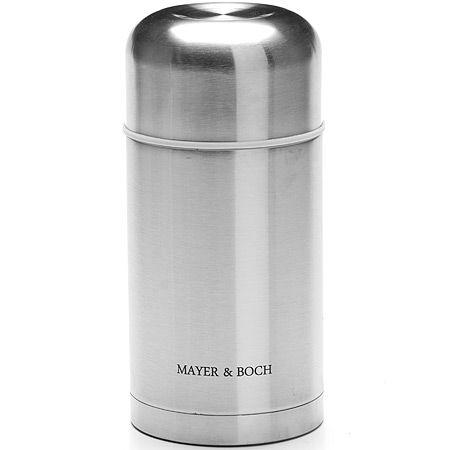 Термос нержавеющий 800 мл колба из металла Mayer&Boch, 26636