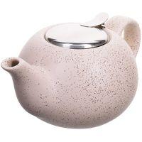 Заварочный чайник Loraine 800 мл керамический цвет бежевый 28680-3